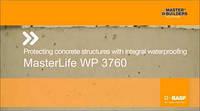 Гидроизоляционная добавка для бетонов и растворов MasterLife 3760