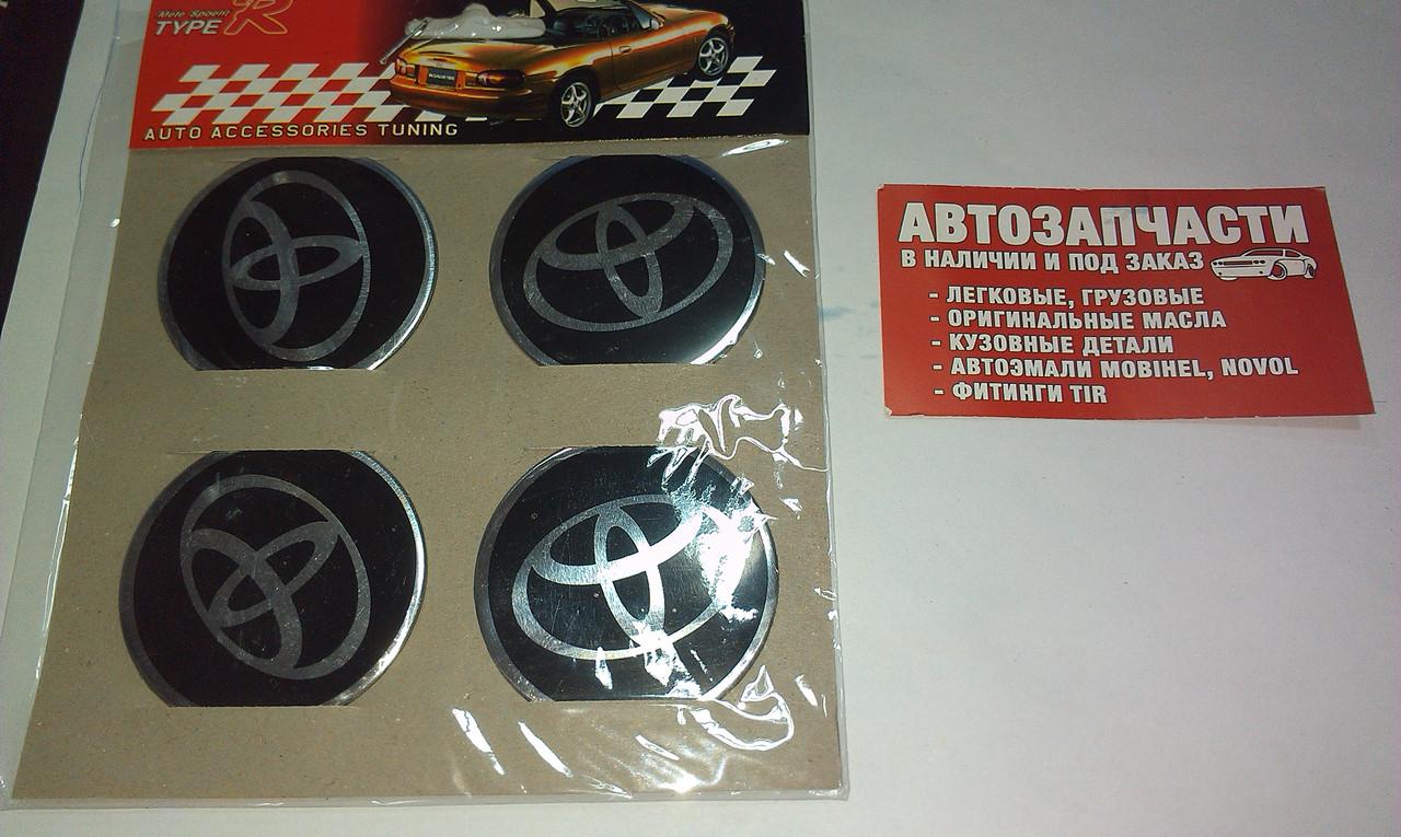 Наклейка на колесный диск/колпак Toyota