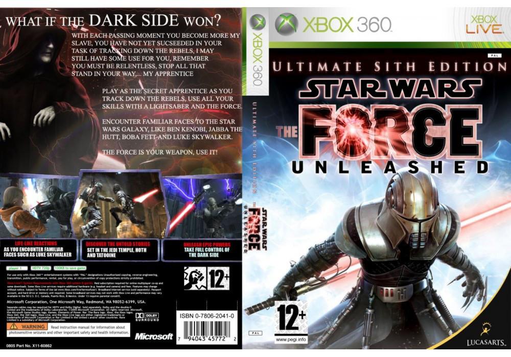 Игра для игровой консоли Xbox 360, Star Wars The Force Unleashed: Ultimate Sith Edition (русская версия)