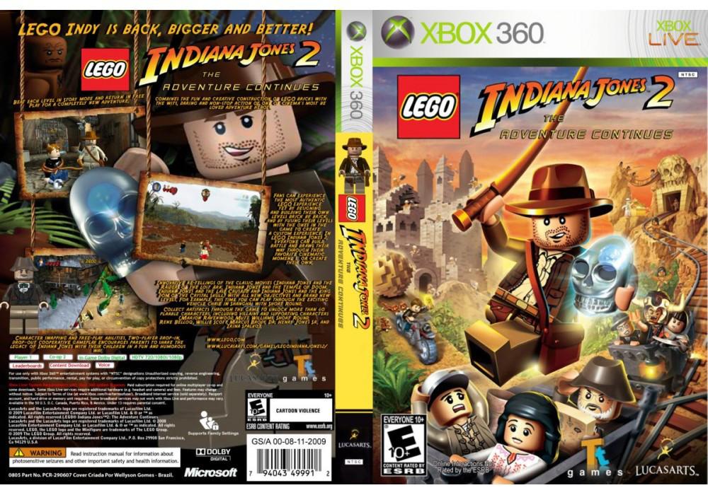 Игра для игровой консоли Xbox 360, LEGO Indiana Jones 2 The Adventure Continues