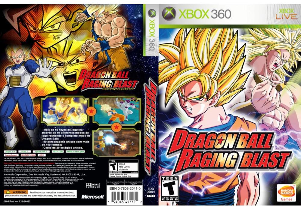 Игра для игровой консоли Xbox 360, Dragon Ball Z Raging Blast