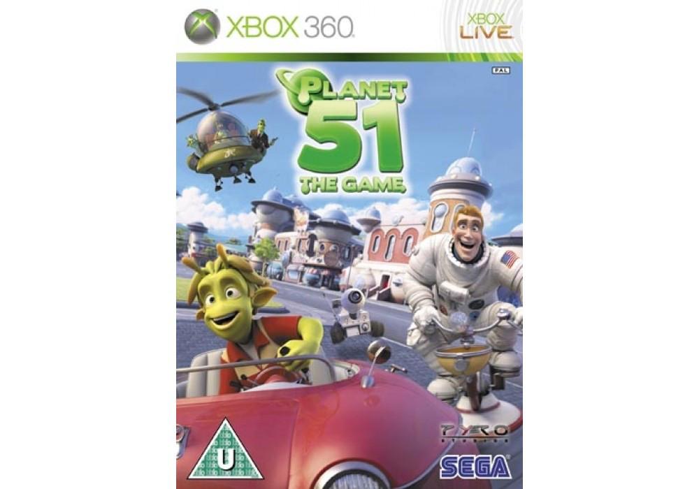 Игра для игровой консоли Xbox 360, Planet 51 The Game
