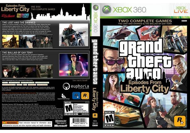 Игра для игровой консоли Xbox 360, Grand Theft Auto: Episodes from Liberty City, фото 2