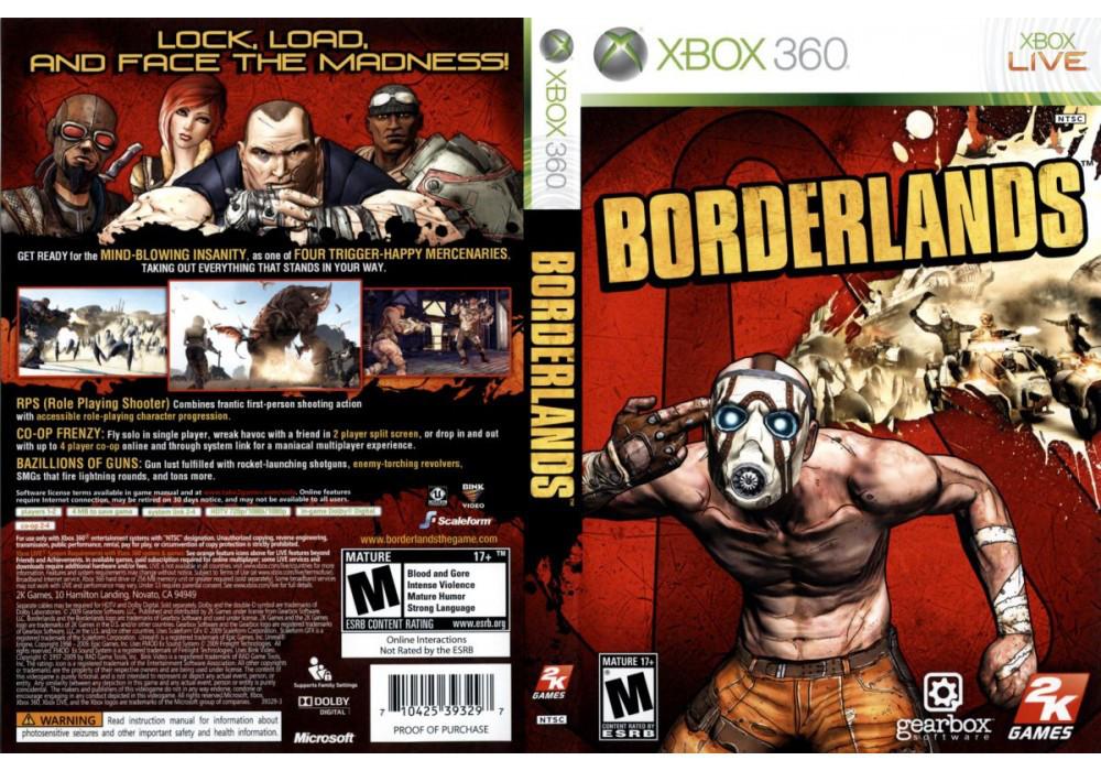 Игра для игровой консоли Xbox 360, Borderlands