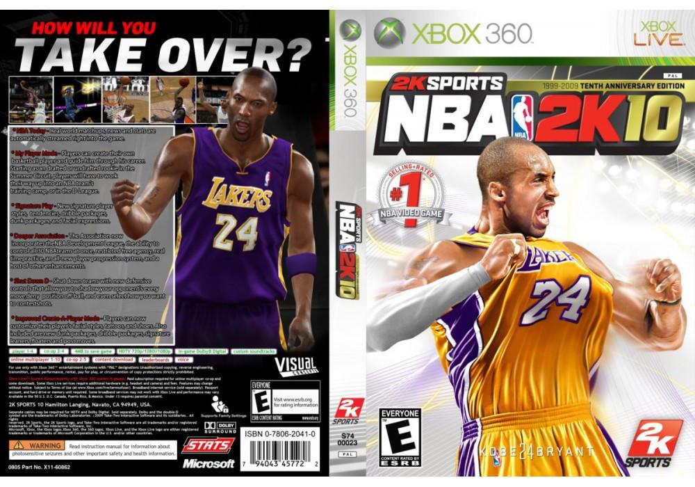 Игра для игровой консоли Xbox 360, NBA 2K10