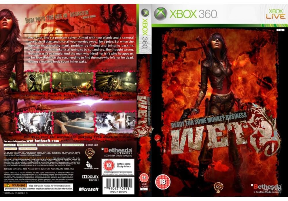 Игра для игровой консоли Xbox 360, WET