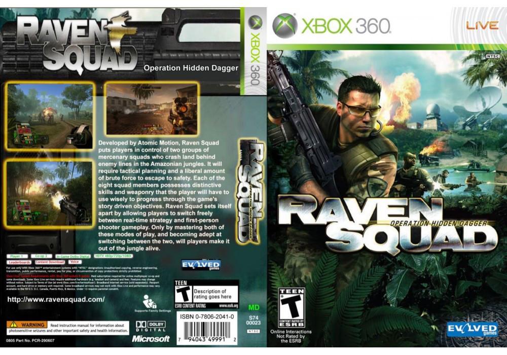 Игра для игровой консоли Xbox 360, Raven Squad: Operation Hidden Dagger