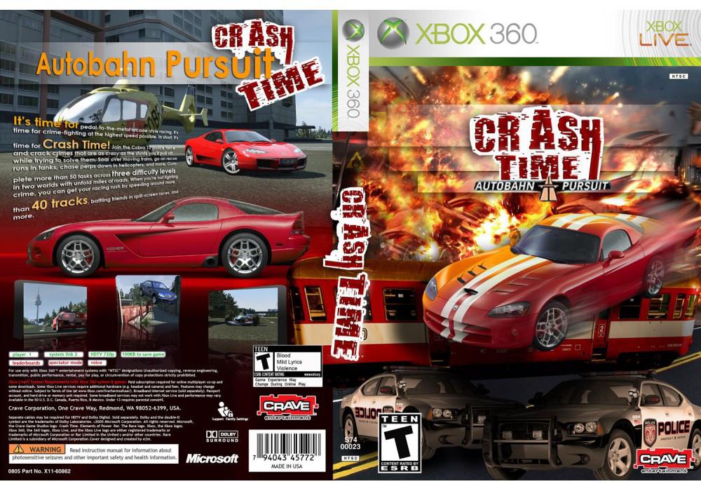 Игра для игровой консоли Xbox 360, Crash Time: Autobahn Pursuit