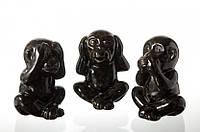 Милая статуэтка обезьянка с закрытыми глазами ушами ртом Символизируют неприятие зла глупости Код: КГ4649