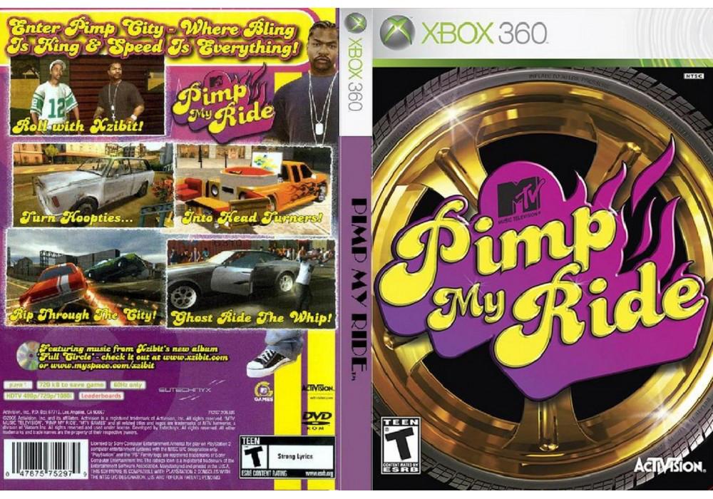 Игра для игровой консоли Xbox 360, Pimp My Ride