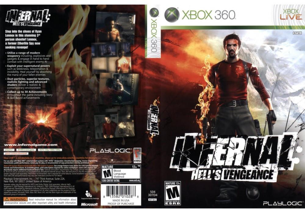 Игра для игровой консоли Xbox 360, Infernal: Hell's Vengeance