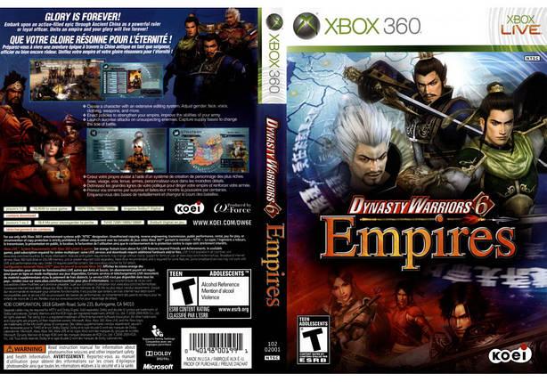 Игра для игровой консоли Xbox 360, Dynasty Warriors 6 Empires, фото 2