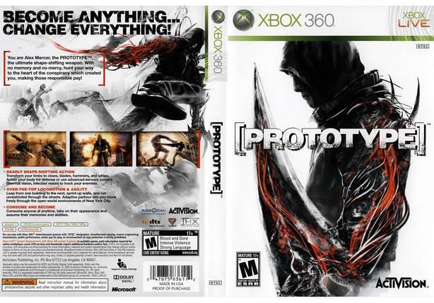 Игра для игровой консоли Xbox 360, Prototype, фото 2