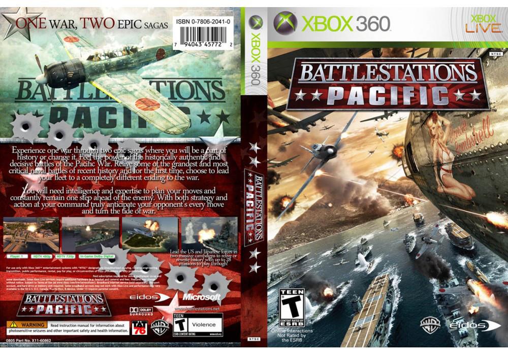 Игра для игровой консоли Xbox 360, Battlestations Pacific