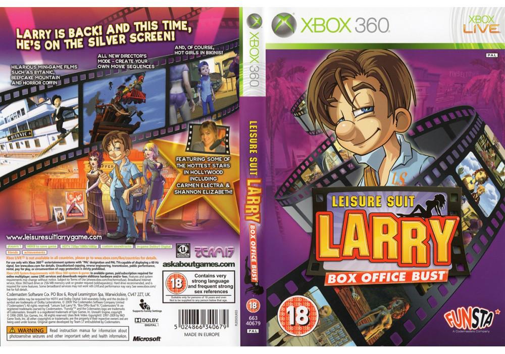 Игра для игровой консоли Xbox 360, Leisure Suit Larry Box Office Bust
