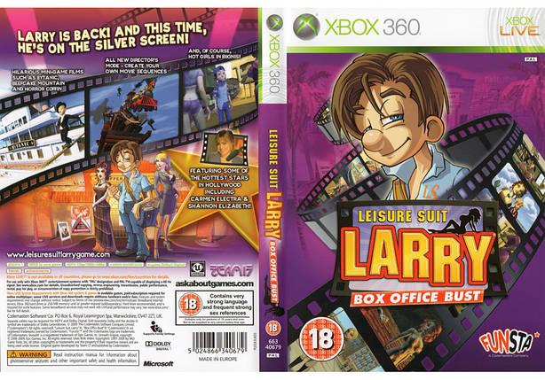 Игра для игровой консоли Xbox 360, Leisure Suit Larry Box Office Bust, фото 2