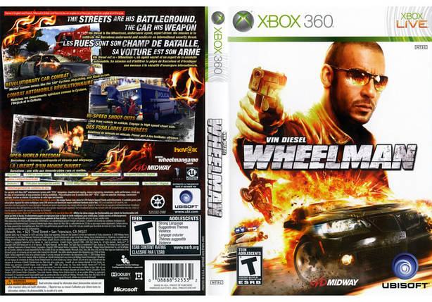 Игра для игровой консоли Xbox 360, Wheelman, фото 2