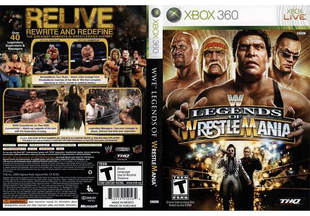 Игра для игровой консоли Xbox 360, WWE Legends of WrestleMania, фото 2