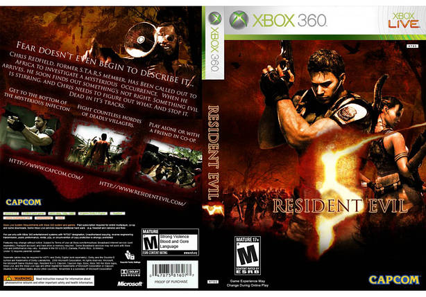 Игра для игровой консоли Xbox 360, Resident Evil 5, фото 2