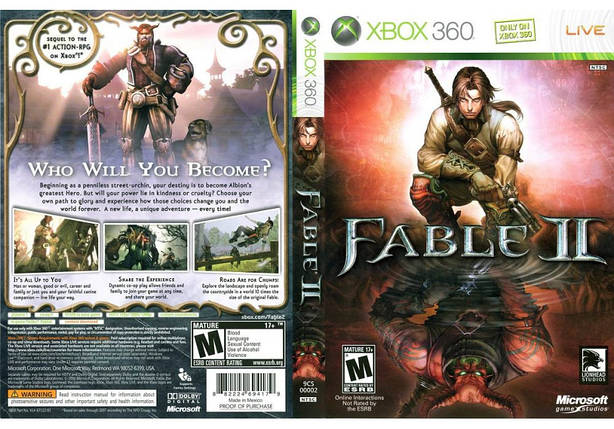 Игра для игровой консоли Xbox 360, Fable 2, фото 2