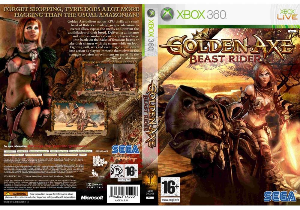 Игра для игровой консоли Xbox 360, Golden Axe: Beast Rider