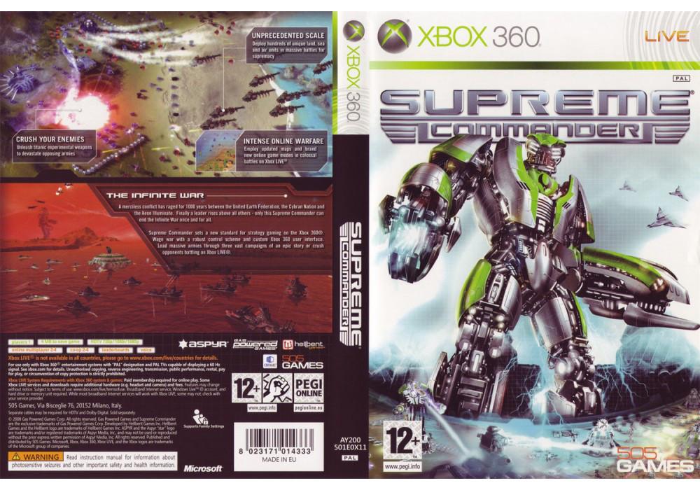Гра для ігрової консолі Xbox 360, Supreme Commander