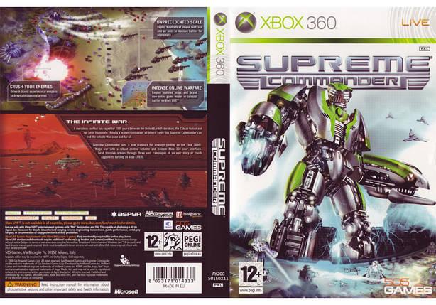 Гра для ігрової консолі Xbox 360, Supreme Commander, фото 2