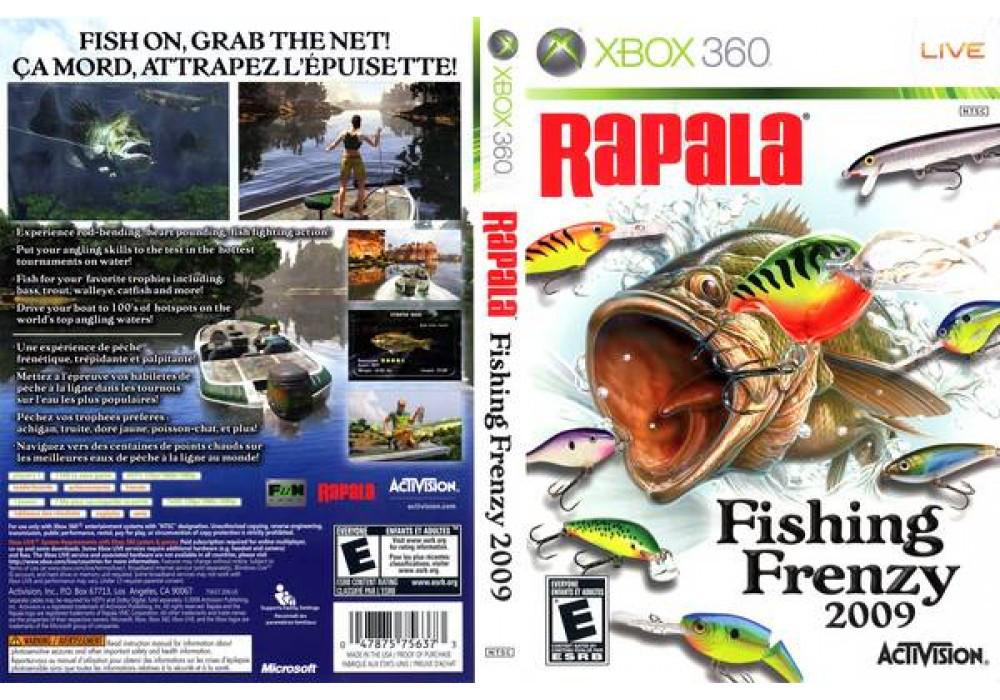 Игра для игровой консоли Xbox 360, Rapala Fishing Frenzy