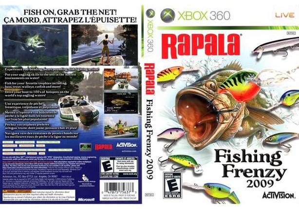 Игра для игровой консоли Xbox 360, Rapala Fishing Frenzy, фото 2