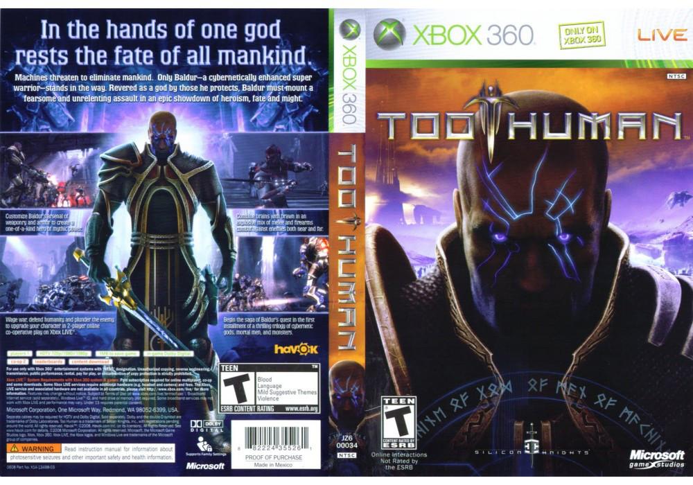 Игра для игровой консоли Xbox 360, Too Human