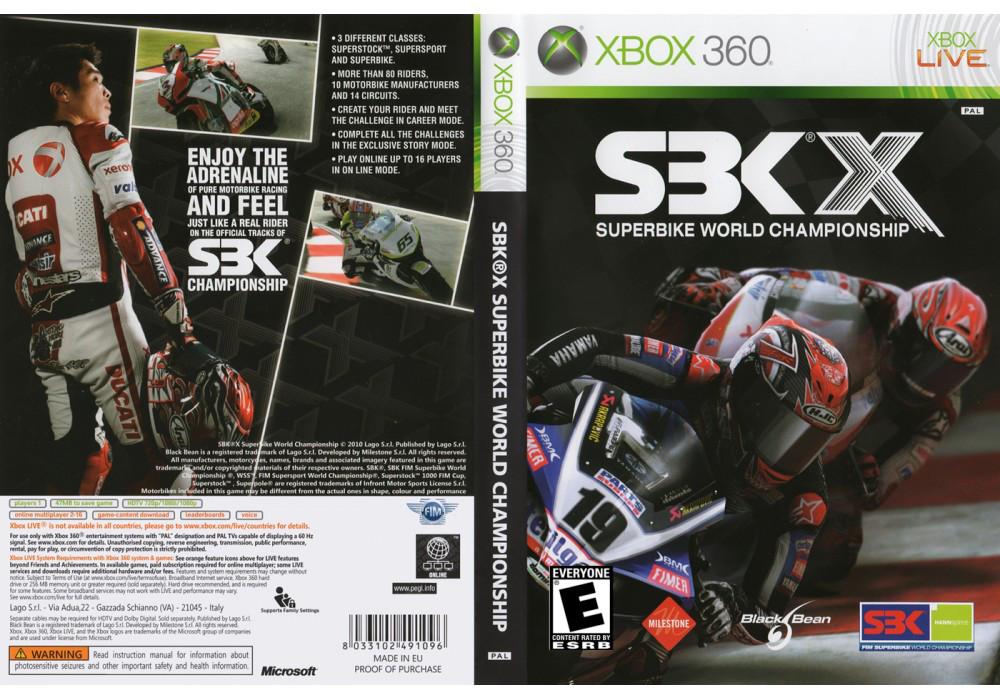 Игра для игровой консоли Xbox 360, SBK-08 Superbike World Championship