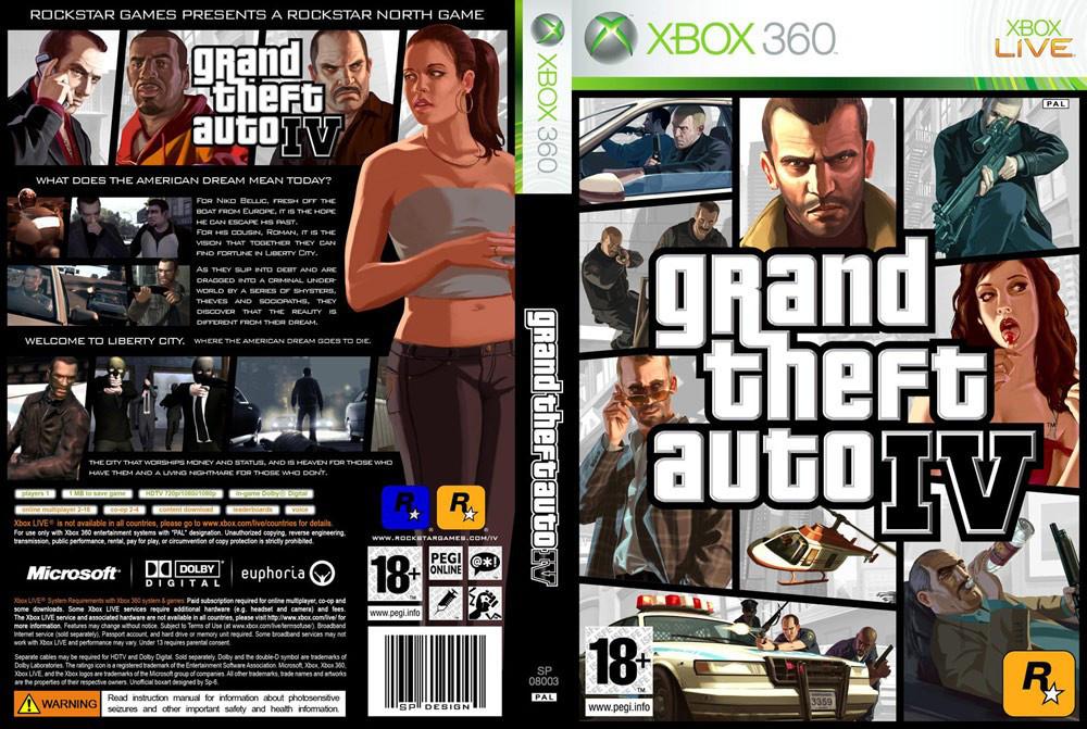 Игра для игровой консоли Xbox 360, Grand Theft Auto IV