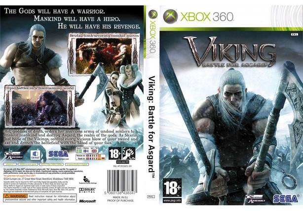 Игра для игровой консоли Xbox 360, Viking: Battle For Asgard, фото 2