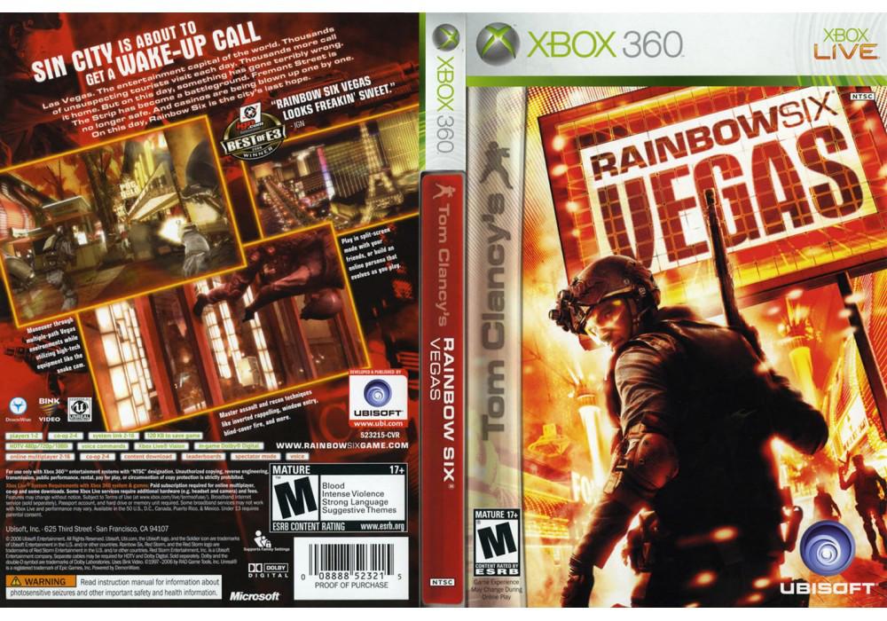 Игра для игровой консоли Xbox 360, Tom Clancy's Rainbow Six: Vegas 2