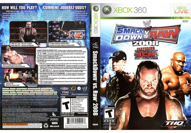 Игра для игровой консоли Xbox 360, WWE SmackDown vs RAW 2008, фото 2