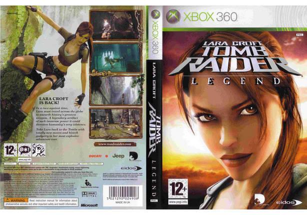 Игра для игровой консоли Xbox 360, Tomb Raider: Legend, фото 2
