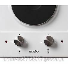 Варочна поверхня електрична VentoLux HE302 (BK) 2, фото 2