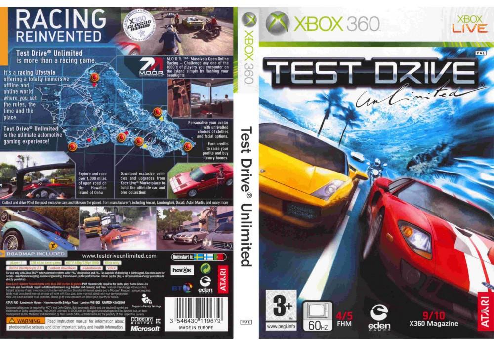Игра для игровой консоли Xbox 360, Test Drive: Unlimited