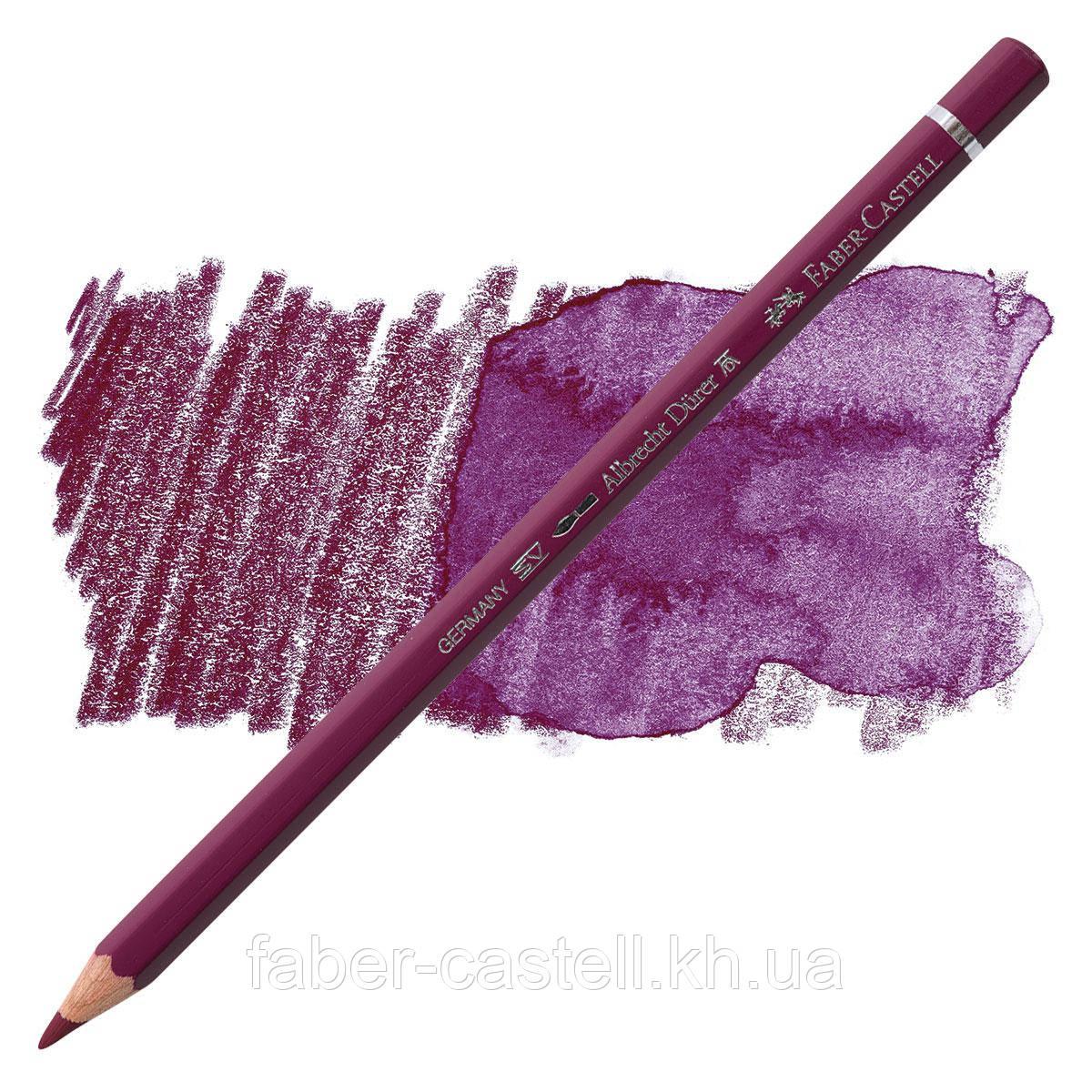 Олівець акварельний кольоровий Faber-Castell Albrecht Дюрера пурпурний / магента (Magenta) № 133, 117633
