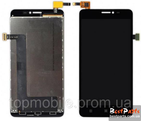 Модуль Lenovo A828t   черный (дисплей + сенсор)
