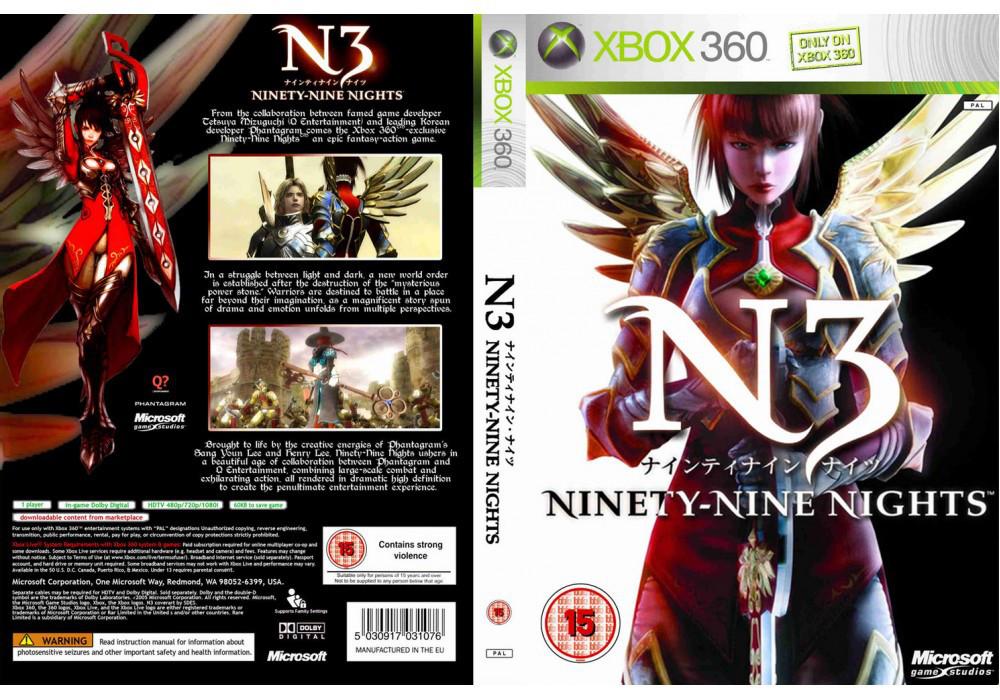 Игра для игровой консоли Xbox 360, N3: Ninety-Nine Nights