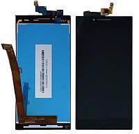 Модуль Lenovo P70   черный (дисплей + сенсор)