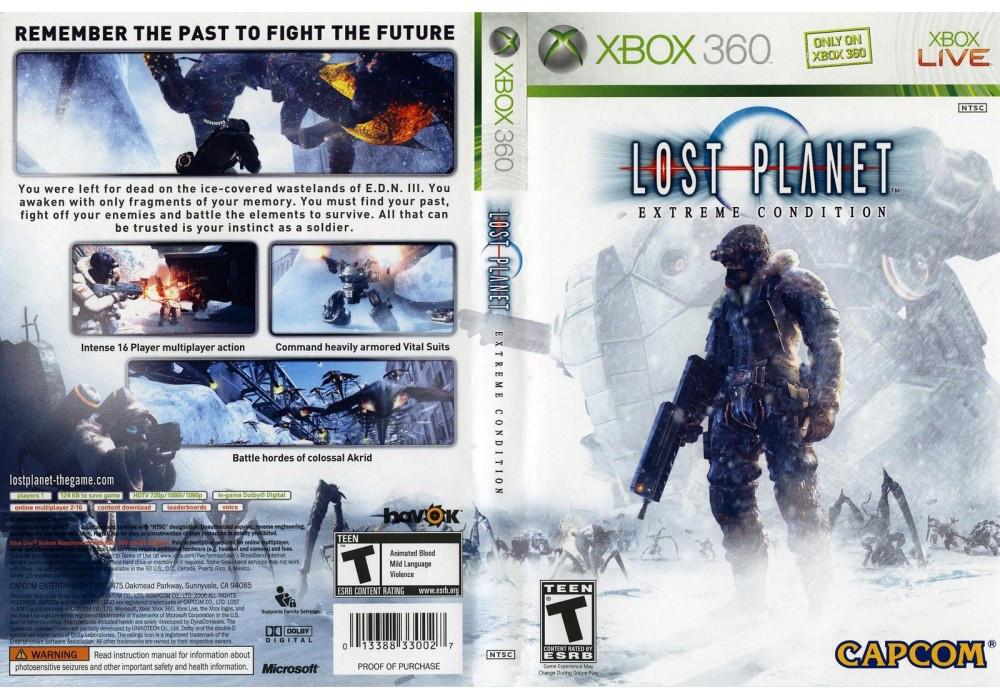 Игра для игровой консоли Xbox 360, Lost Planet: Extreme Condition