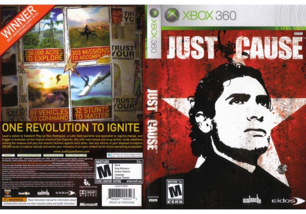 Игра для игровой консоли Xbox 360, Just Cause
