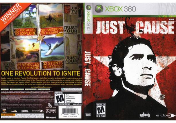 Игра для игровой консоли Xbox 360, Just Cause, фото 2