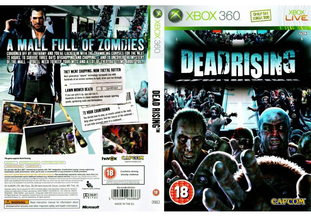 Гра для ігрової консолі Xbox 360, Dead Rising