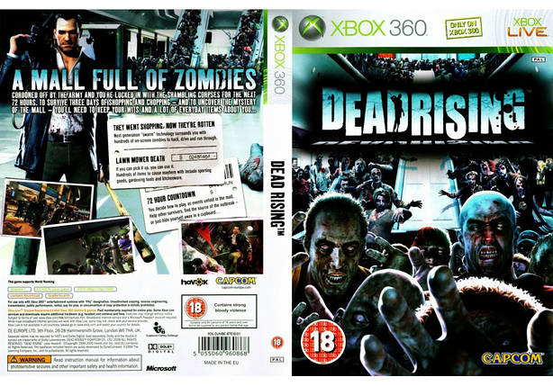 Гра для ігрової консолі Xbox 360, Dead Rising, фото 2