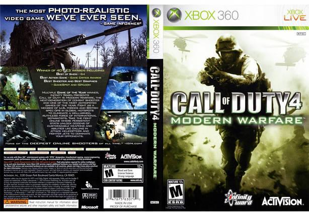Игра для игровой консоли Xbox 360, Call of Duty 4: Modern Warfare, фото 2
