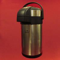 Термос железный насосом МТ 0093 2,5 L