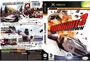 Игра для игровой консоли Xbox 360E, Burnout 3: Takedown